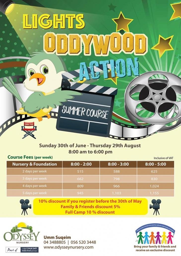 Oddywood Summer Course