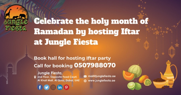 Iftar Party with JungleFiesta Dubai
