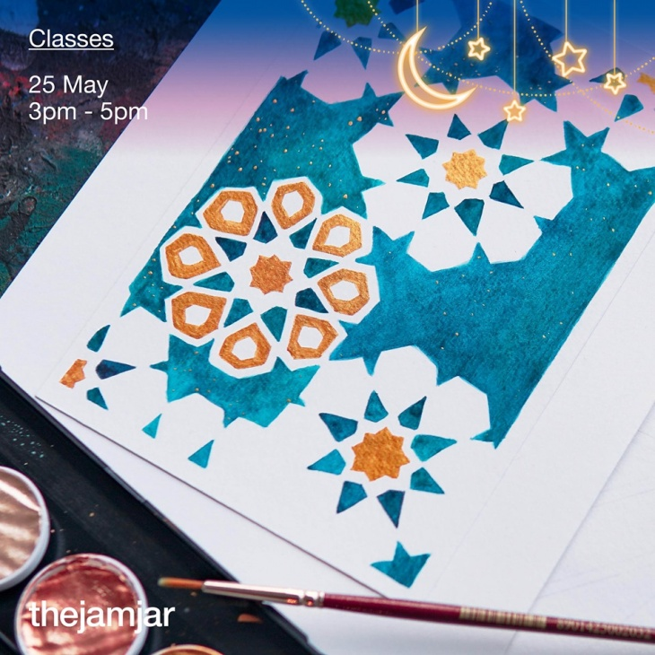 Islamic Decoration and Geometric Patterns Workshop