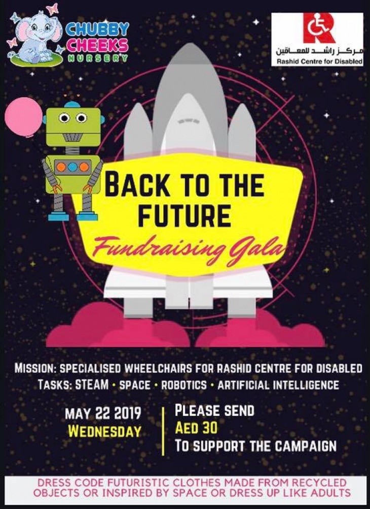 BACK TO The FUTURE Fundraising Gala