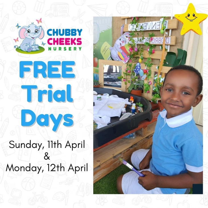 Free Trial Day at Chubby Cheeks Nursery
