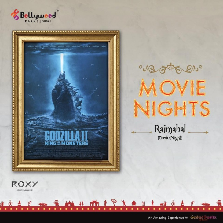 Movie nights at Bollywood parks: Godzilla II