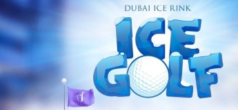 Ice Mini Golf @ Dubai Ice Rink