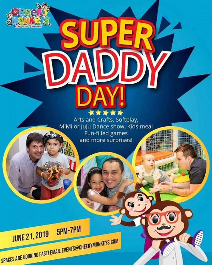 Super Daddy Day @ Cheeky Monkeys J3 Mall