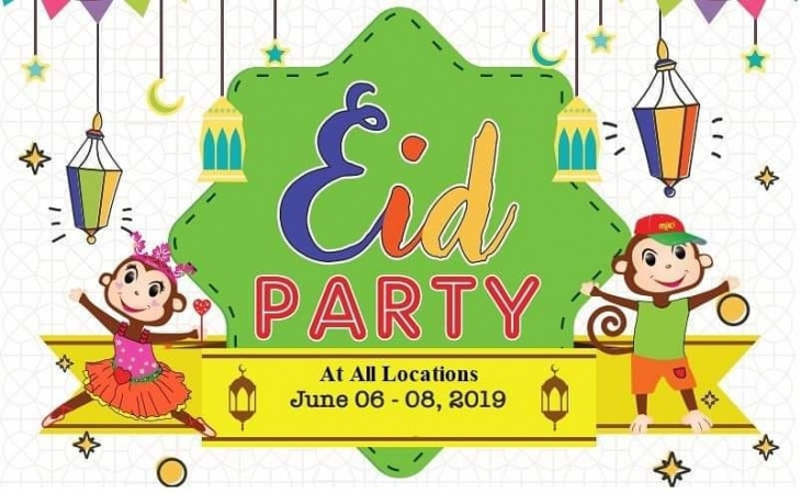 Eid Party @ Cheeky Monkeys J3 mall