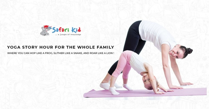 Yoga Story Hour @ Safari Kid Nursery Sheikh Zayed Road
