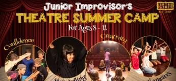 Junior Improv Summer Camp - 8 to 11 years