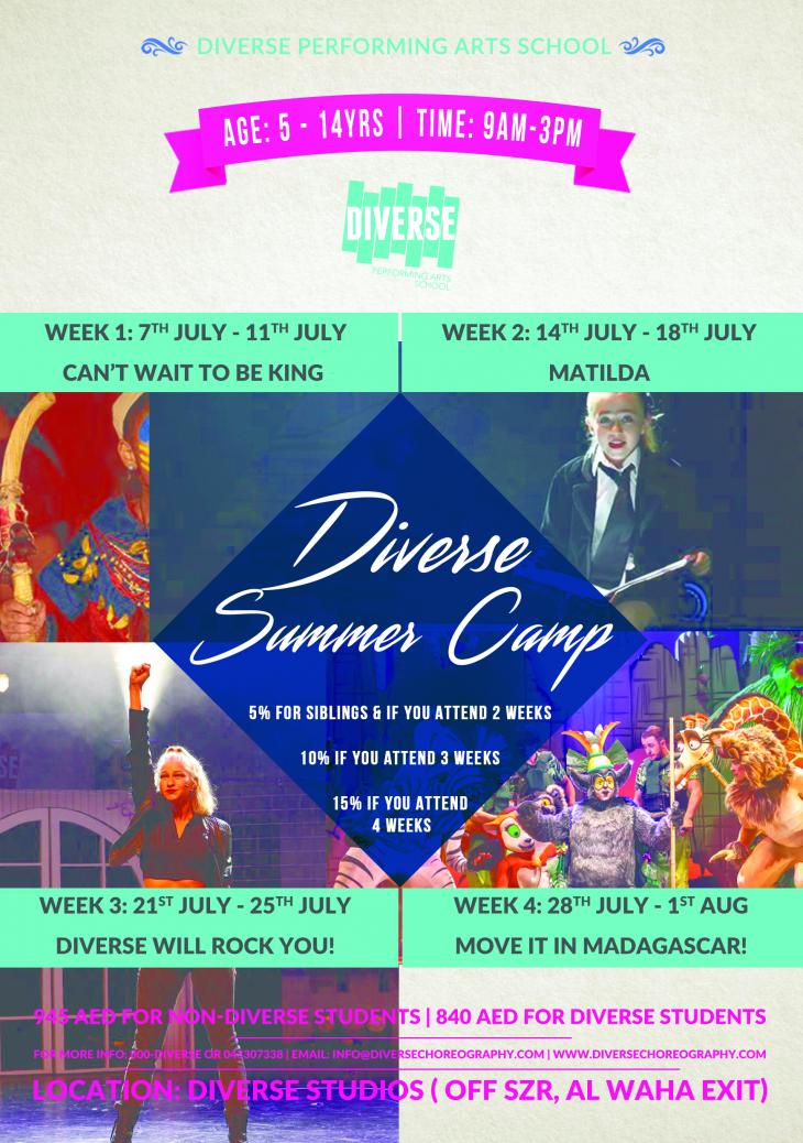 Diverse Summer Camp 2019