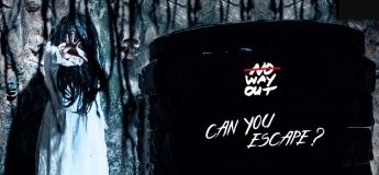 Horror with live actor escape room game THE RING