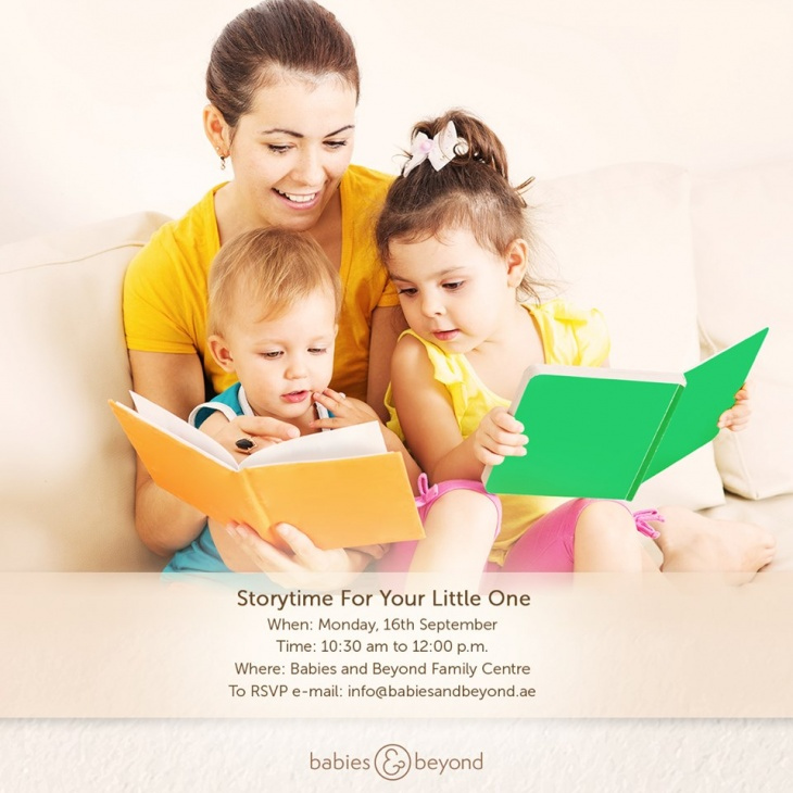 Storytime and Your Little one