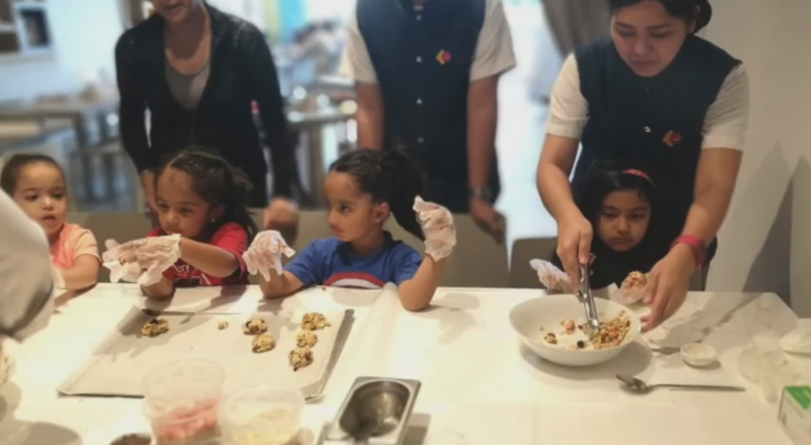 Cookie making for kids