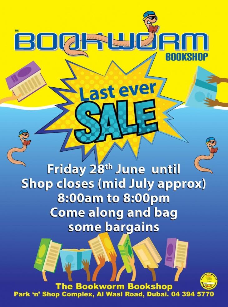 Last Ever Sale @ Bookworm