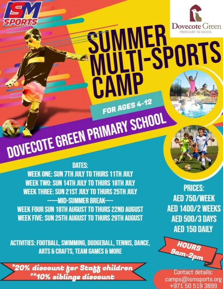 Summer Camp @ Dovecote Green Primary School 2019