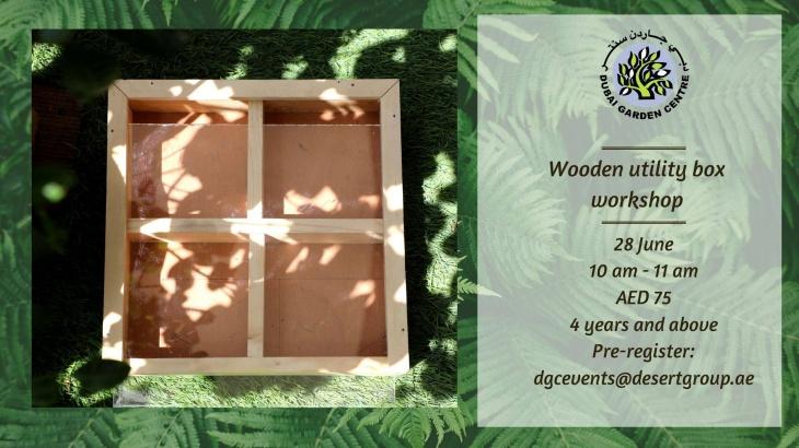 Wooden utility box workshop