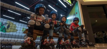 Get your skates on at the Roller Rink!