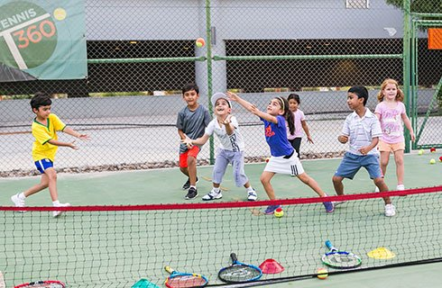 Kindy Smashers Tennis Classes