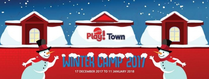 Winter Camp at Mattel Play! Town