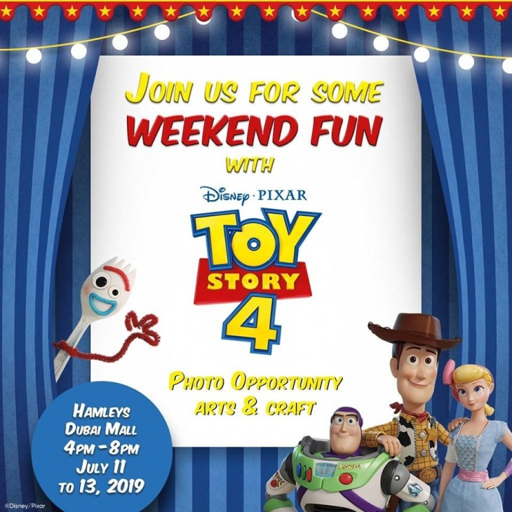 Weekend Fun with Toy Story 4