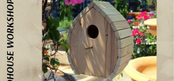 Free Wooden Birdhouse Workshop