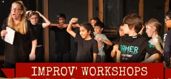 Kids' Improv' Classes for 9 to 12 years