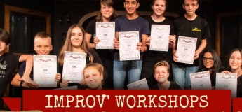 Teens' Improv' Classes for 12 to 14 years