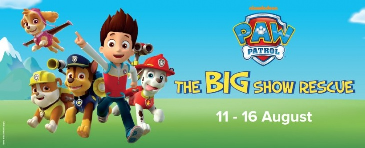 Paw Patrol: The Big Show Rescue
