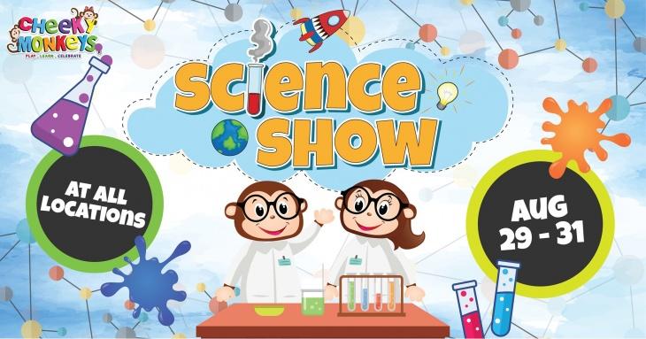 Science Show @ Cheeky Monkeys 2019