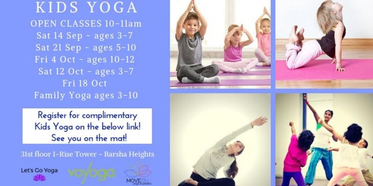 Kids Yoga & Mindfulness Open Classes @ Voyoga