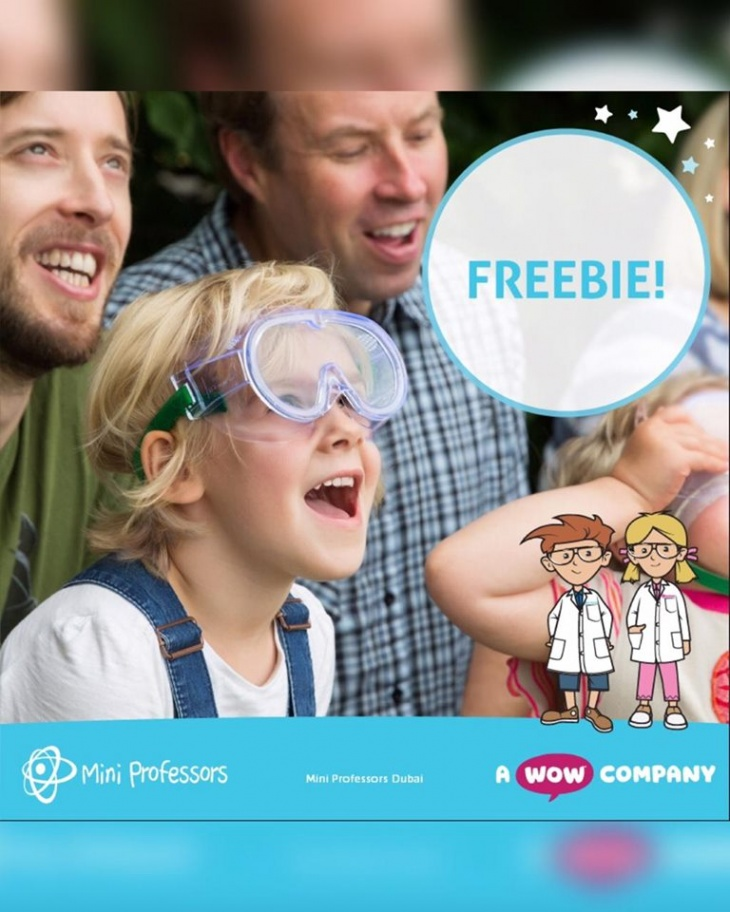 Free Mini Professors trials for 2-6 yrs olds