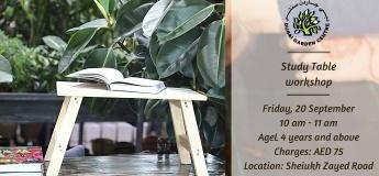 Study table workshop @ Dubai Garden Centre