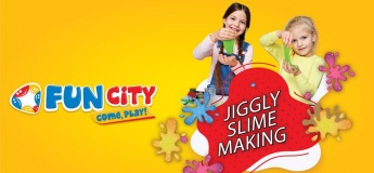 Jiggly Slime Making