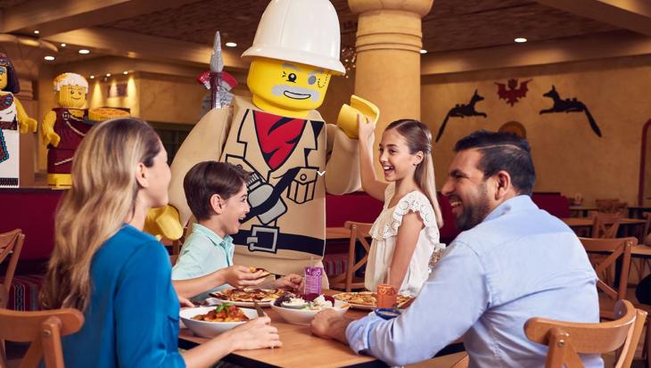 Kids eat free! @ LEGOLAND® Dubai