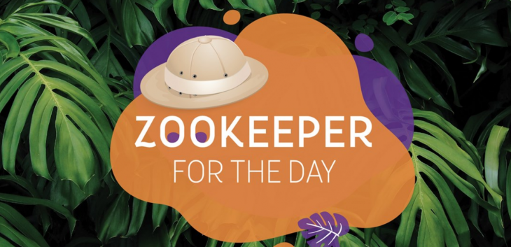 Zookeeper for the day @ The Green Planet Dubai