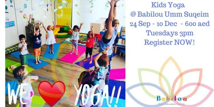 Move On Kids Yoga & Mindfulness @ Babilou Umm Suqeim OPEN CLASS