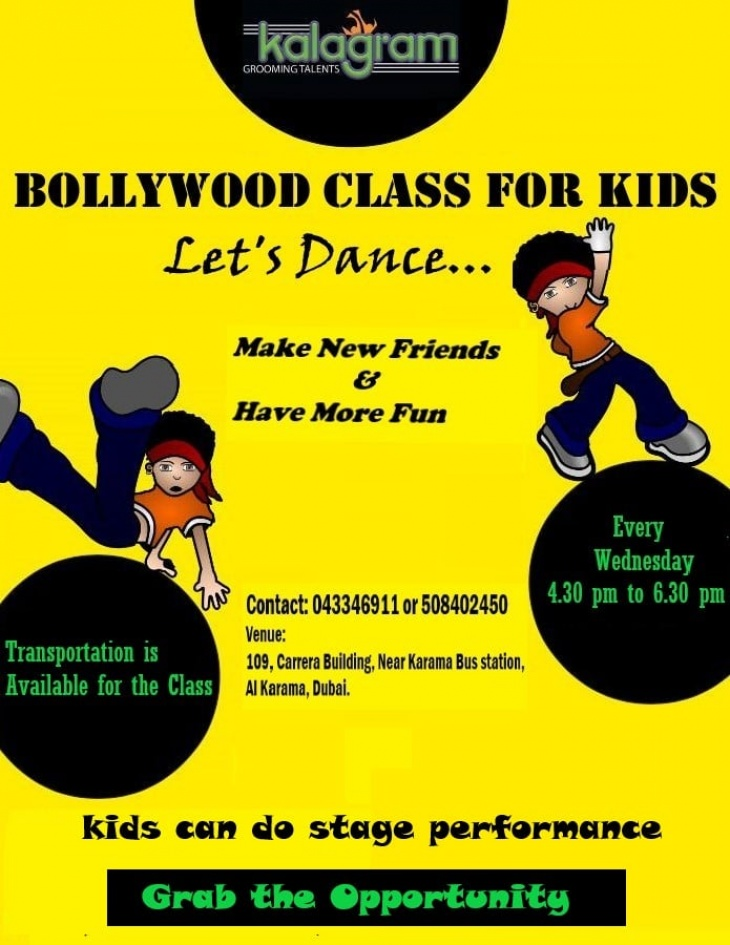 Bollywood Class For Kids