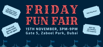 Friday Fun fair at Maersk CSR Event 2019