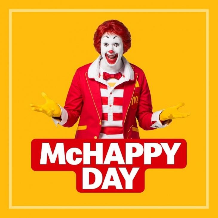 McHappy Day @ Mercato