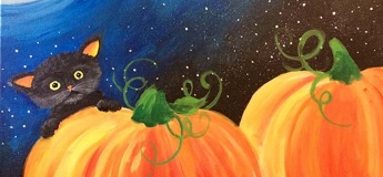 Halloween Painting Party