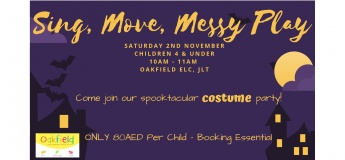 Halloween Sing, Move, Messy Play