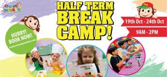 Half-Term Break Camp 2019 @ Cheeky Monkeys