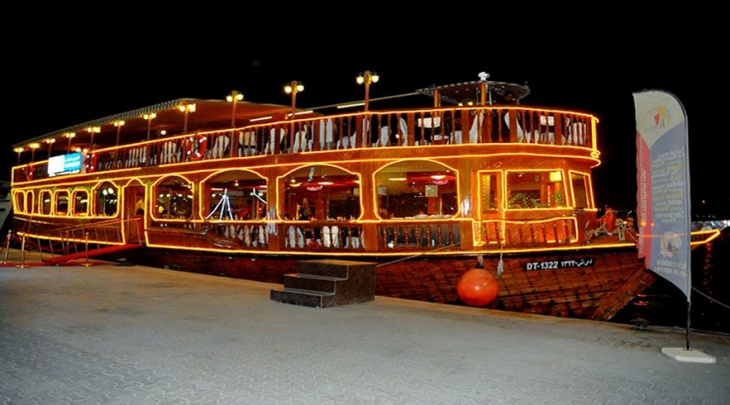 Dhow Cruise Dinner - Marina - 45% Off