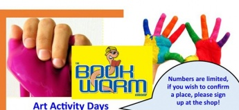 Art Activity Days @ Bookworm