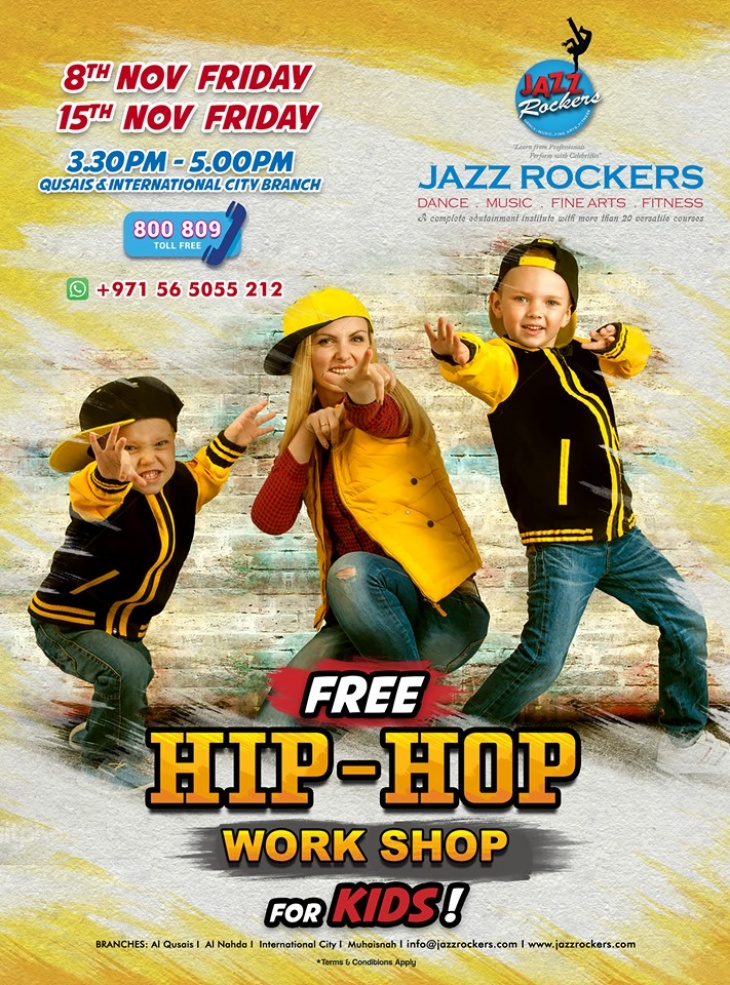Free Hip Hop Workshop