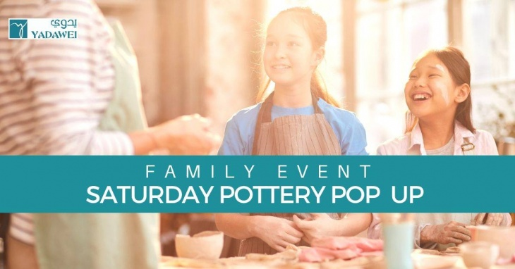 Family Saturday Pottery Pop Up