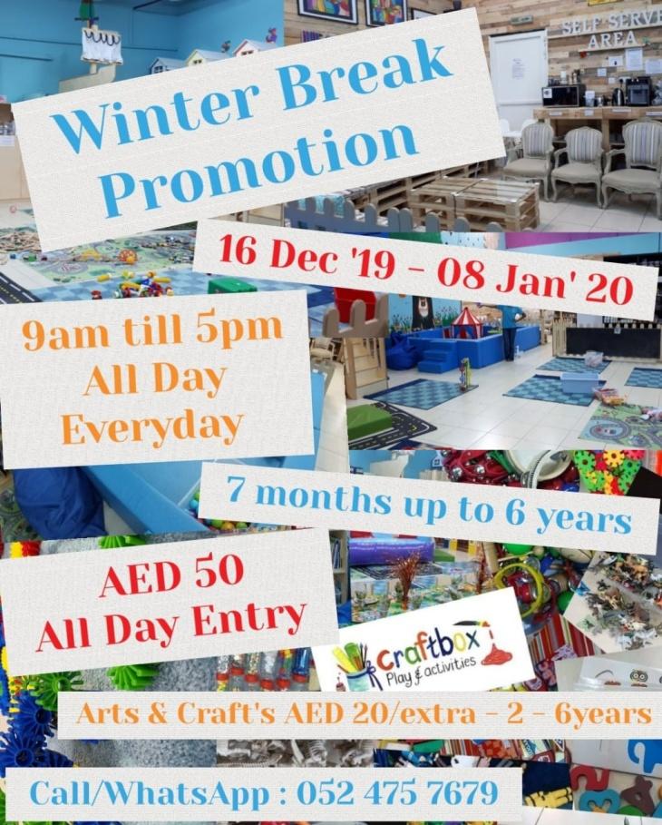Winter Break Promotion
