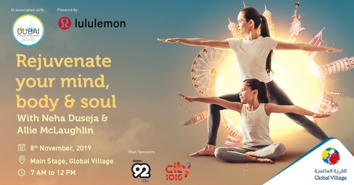 Yoga Day Out at Global Village