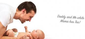 Baby Massage: Dad's Session