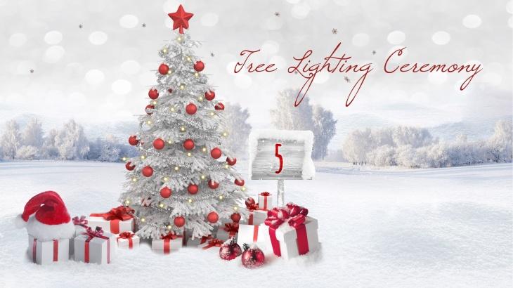 Annual Tree Lighting Ceremony at Raffles Dubai