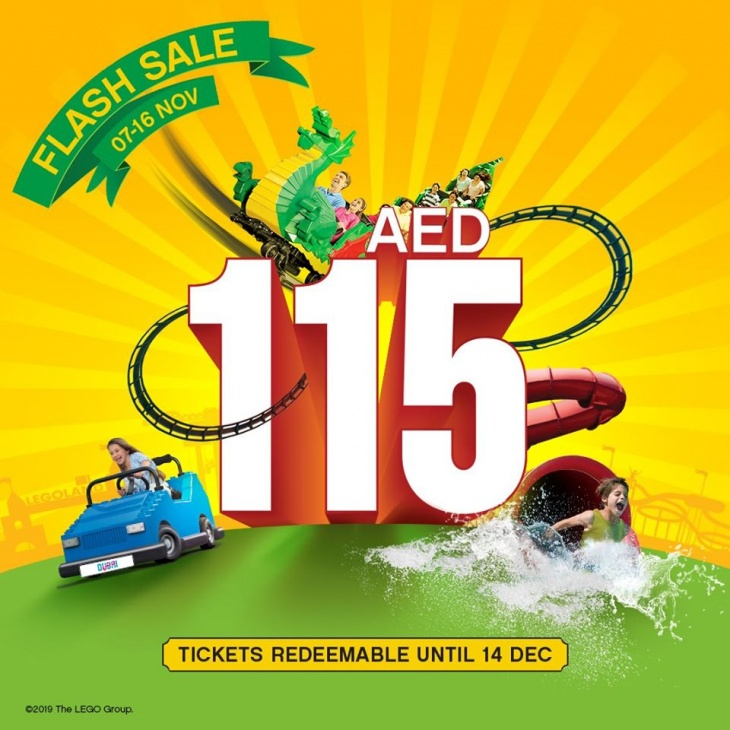 November flash Sale @ LEGOLAND® Dubai