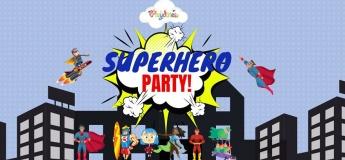 Superhero Party @ Playdates